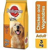 Pedigree Chicken & Vegetables, Dry Dog Food (Adult), 3kg