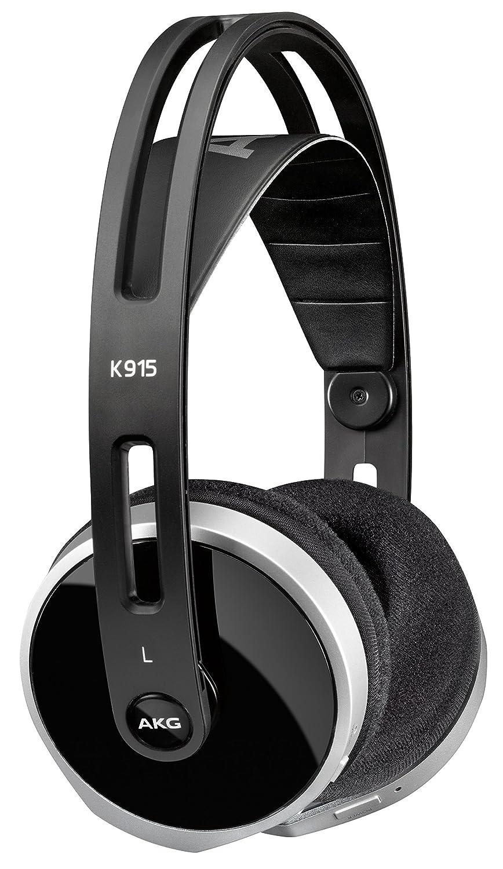 AKG K915 Auriculares supraaurales digitales estéreo de uso doméstico inalámbricos Bluetooth de nivel de entrada, compatibles con dispositivos iOS de Apple y ...