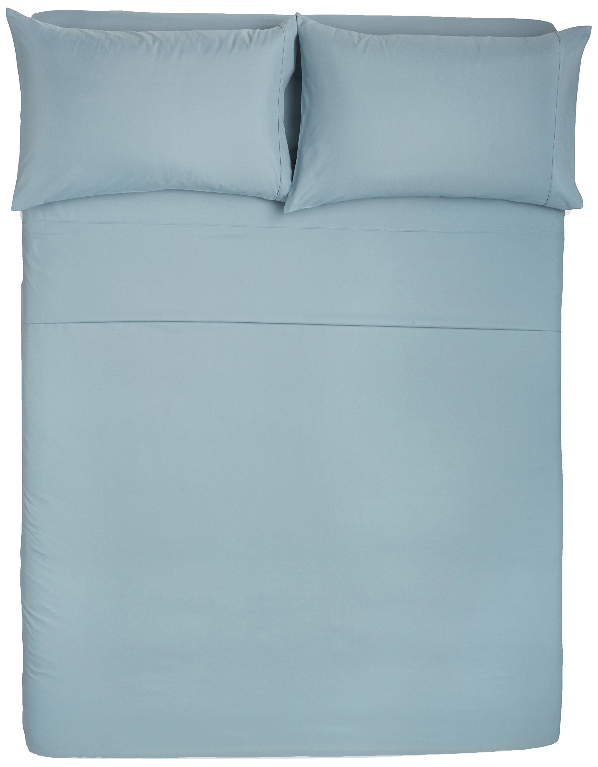 AmazonBasics Microfiber Sheet Set - Full, Spa Blue by AmazonBasics (Image #3)