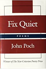 Fix Quiet: Poems Hardcover