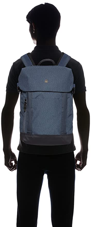 Amazon.com: Victorinox Altmont Classic Deluxe Flapover Laptop Backpack, Blue One Size
