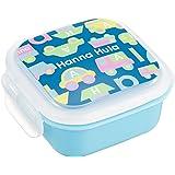 ハンナフラ(Hanna Hula) キッズ デザートケース のりもの ランチシリーズ 日本製 お名前シール付き 電子レンジOK 食洗機OK 子供用かわいいお弁当グッズ
