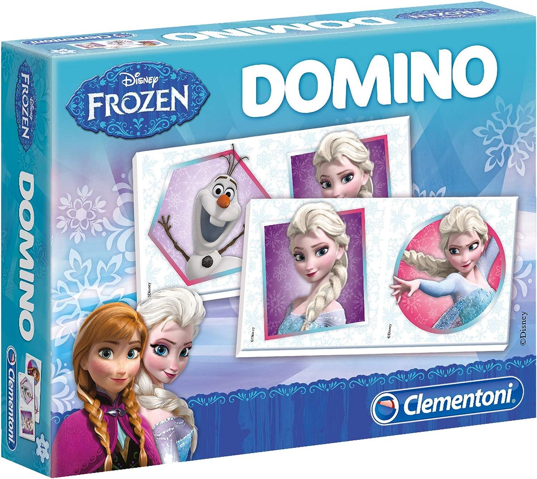 Clementoni - Dominó Frozen, de 2 a 4 Jugadores (605020): Disney Frozen: Amazon.es: Juguetes y juegos