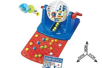 Tradicional bingo lotería juego Diversión y juegos para la familia. 90 bola  Navidad juguete niños Boardgame  Amazon.es  Juguetes y juegos 3d488d3109682