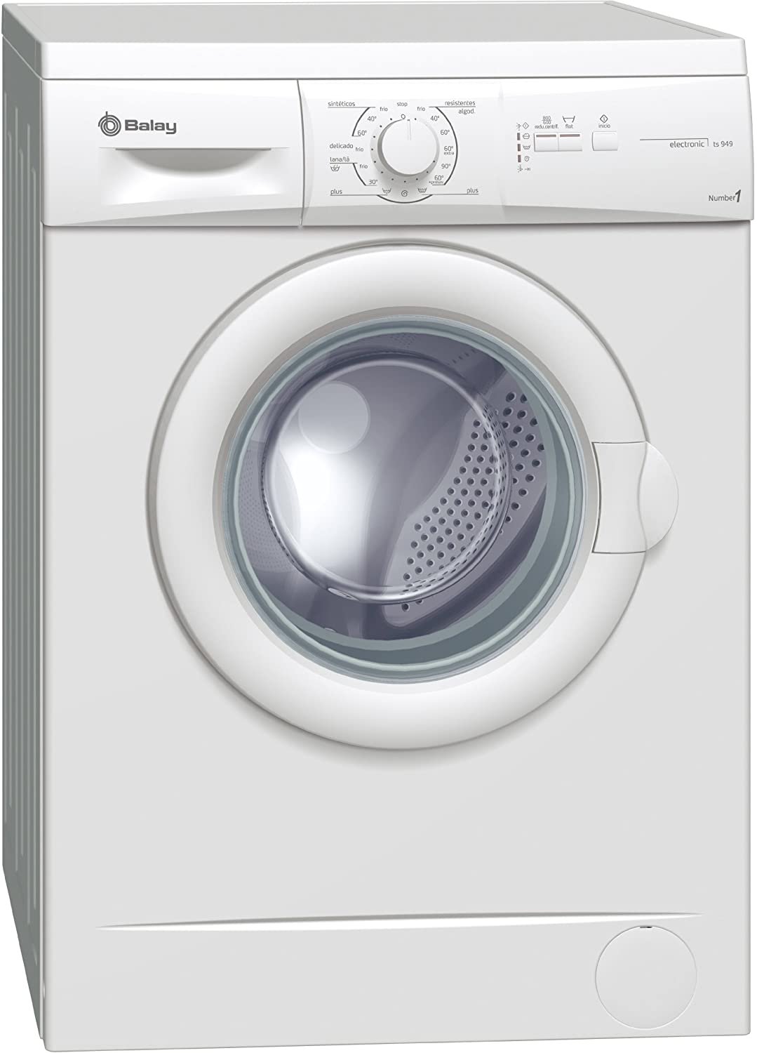 Balay 3TS949A Independiente Carga frontal 5.5kg 800RPM A Blanco ...