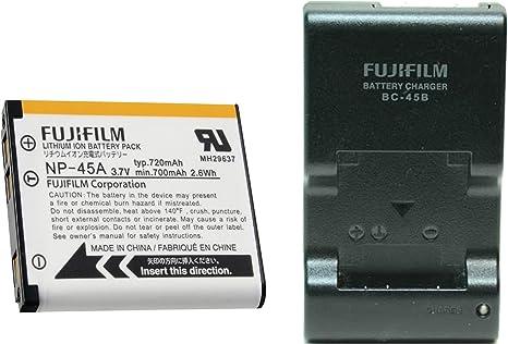 Amazon Com Bc45b Battery Charger Np45a Li Ion Battery For Fuji Camera Photo