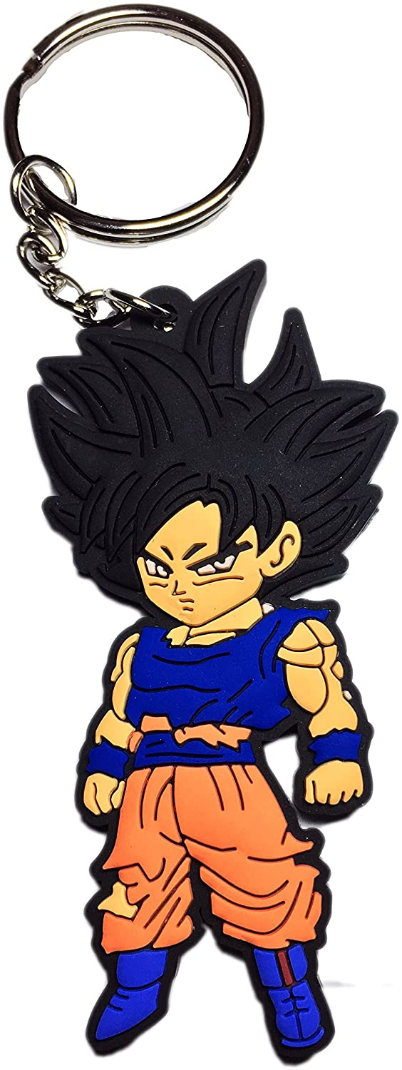 Dragon Ball Goku de Super Ultra Instinct llavero: Amazon.es ...