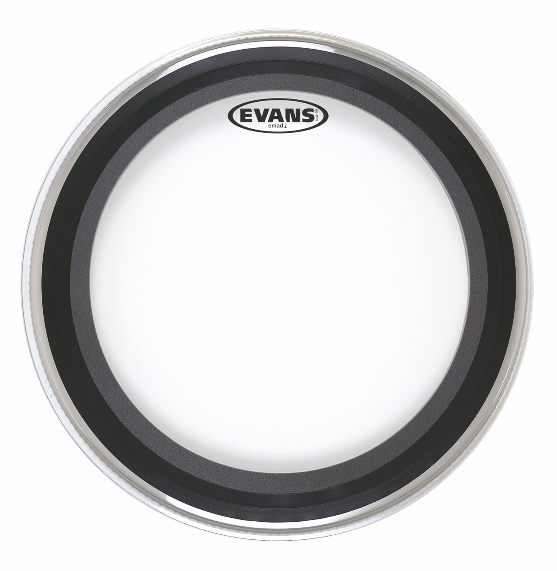 Evans EMAD2 Clear Bass Drum Head, 20 Inch