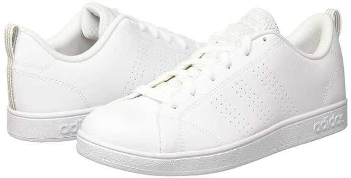 hot sale online f58e1 3286f Adidas Vs Advantage Cl K, Sneakers Basses Mixte Enfant, Blanc Cassé (FTWR  White Grey One), 35.5 EU  Amazon.fr  Chaussures et Sacs