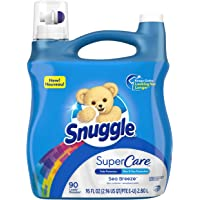 Deals on 2-Pk Snuggle SuperCare Liquid Fabric Softener 95 Ounce