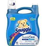 Snuggle SuperCare Liquid Fabric Softener, Sea Breeze, 95 Ounce, 90 Loads