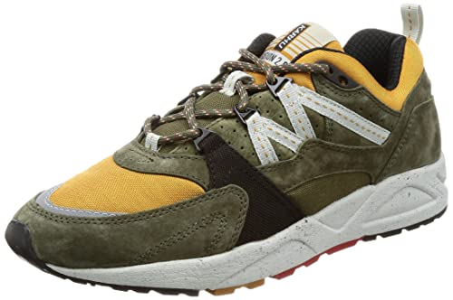 Karhu - Karhu Fusion 2.0 Olive Green / Ocra Yellow F804017 - F804017 - EU 40.5 - US 7.5 - UK 6.5 - MM 259: Amazon.es: Zapatos y complementos
