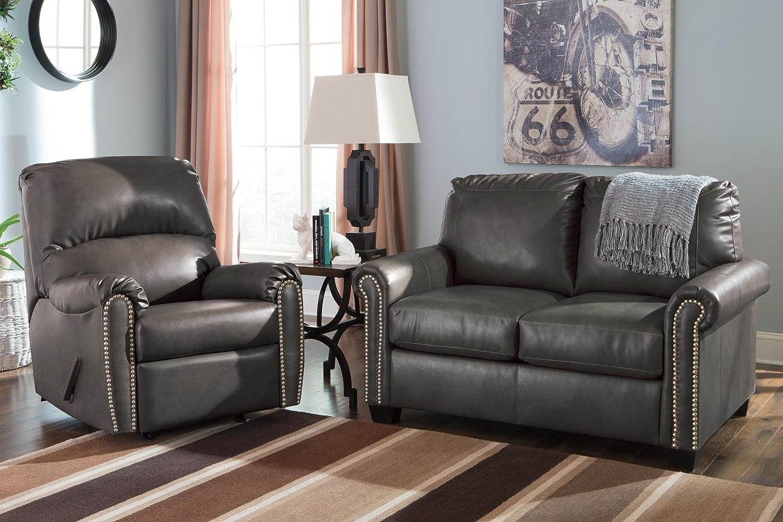 amazoncom ashley furniture signature design lottie sleeper sofa twin size slate kitchen u0026 dining