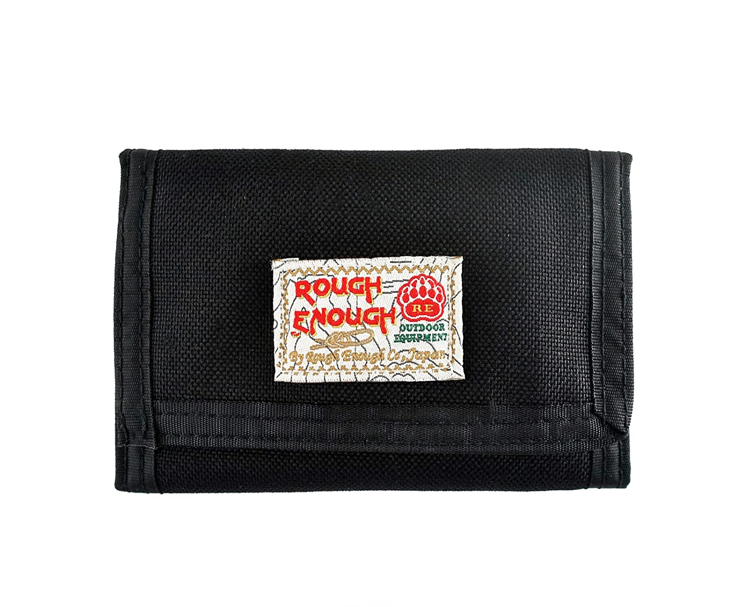 Amazon.com: Rough Enough Multi-Function Vintage Sports Outdoors Classic Basics Cordura Slim Small Mini Trifold Portable Wallet Coin Purse Credit Card Holder ...