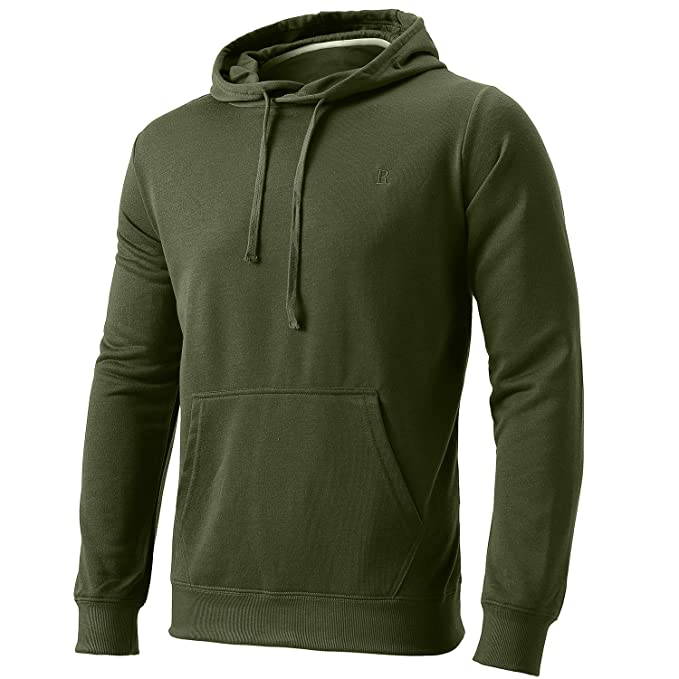 82a5752e658 FLY HAWK Mens Pullover Hoodies Casual Hoody Gym Workout Joggers Sweatshirt