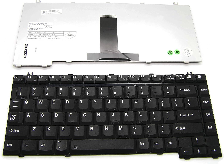 New Genuine Toshiba Satellite A115 A125 A135 US Keyboard K000044110