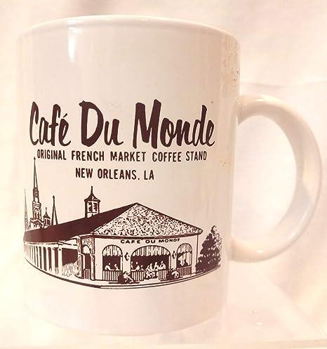 Details about  /Vintage Cafe du Monde Vintage Coffee Cup Mug Tea New Orleans NOLA Big Easy