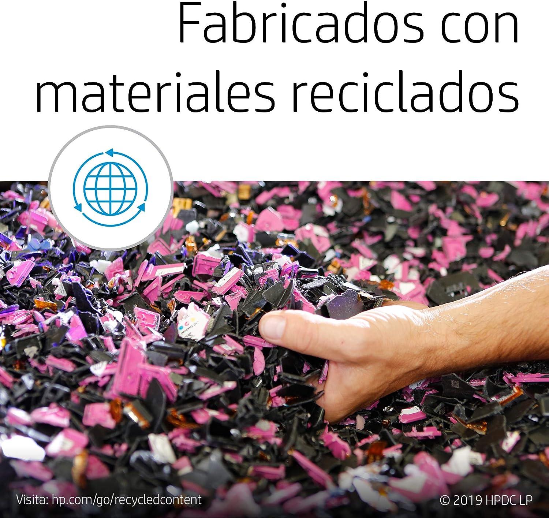 HP 301 N9J72AE, Pack de 2, Cartuchos de Tinta Originales Negro y Tricolor, compatible con impresoras de inyección de tinta HP DeskJet 1050, 2540, 3050;OfficeJet 2620, 4630;ENVY 4500, 553: Hp: Amazon.es: Oficina y papelería