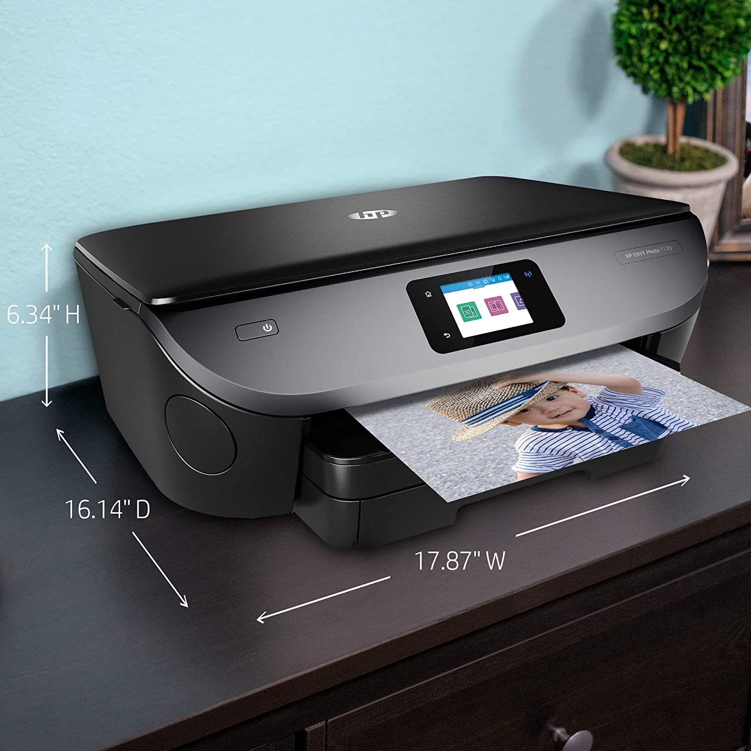 HP Z3M37A#B1H ENVY Photo 7120 All-in-One Printer 2.65