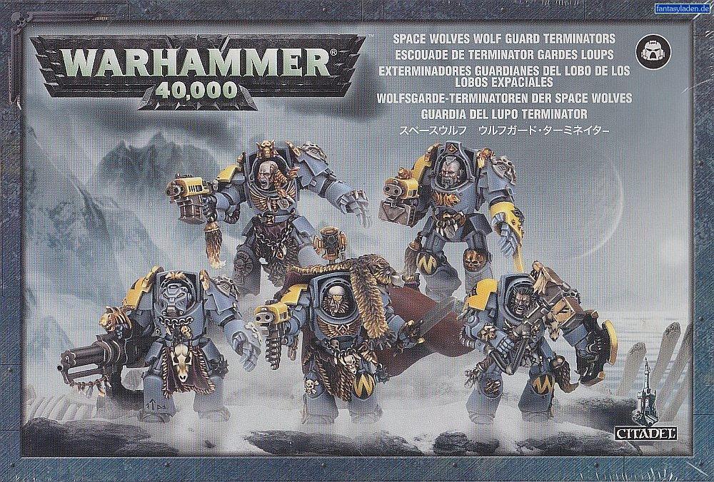 Games Workshop Wolf Guard Space Marine Terminator Squad Warhammer 40k by Games Workshop (Image #1)