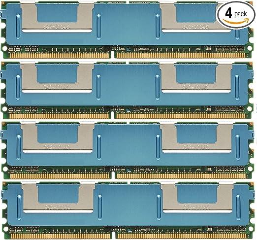 DDR2 MEMORY RAM PC2-5300 ECC FBDIMM DIMM DUAL RANK ***FOR SERVERS*** 8GB 2X4GB