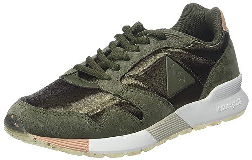 Le Coq Sportif Omega X W Sport Olive Night/Dusty Coral, Zapatillas para Mujer: Amazon.es: Zapatos y complementos