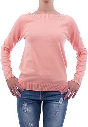 TALLA XS. Vila Victema - Jersey para mujer, talla L/S, color naranja