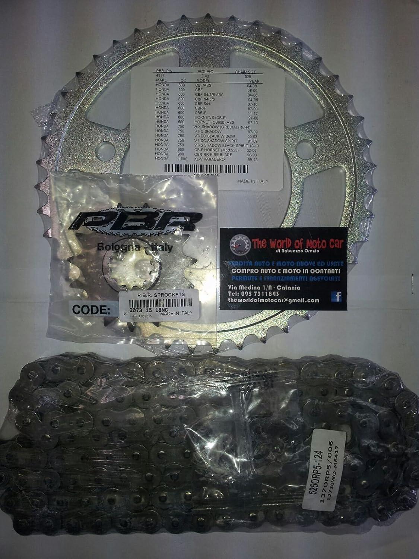 cha/îne pour honda cB 600/F hornet//s 00//02/435743/207315 Kit transmission pBR