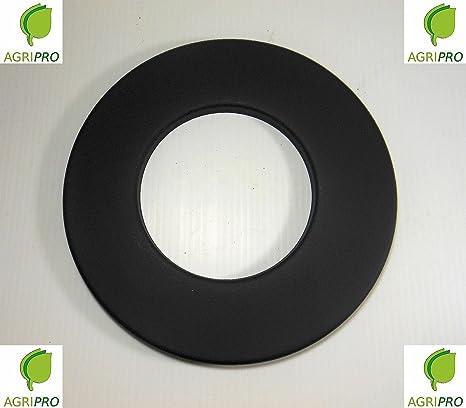 Tubo de evacuación de gases circular, diámetro de 80 mm, para estufa de pellets