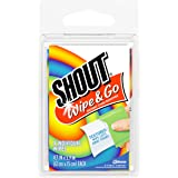 Shout Wipe & Go Wipes, 4-Count (Pack of 24)