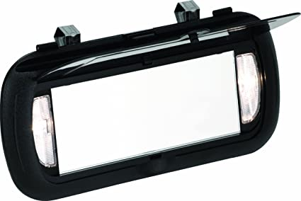 Amazon.com  Bell Automotive 22-1-00449-8 Large Lighted Visor Mirror ... c1d7490932d
