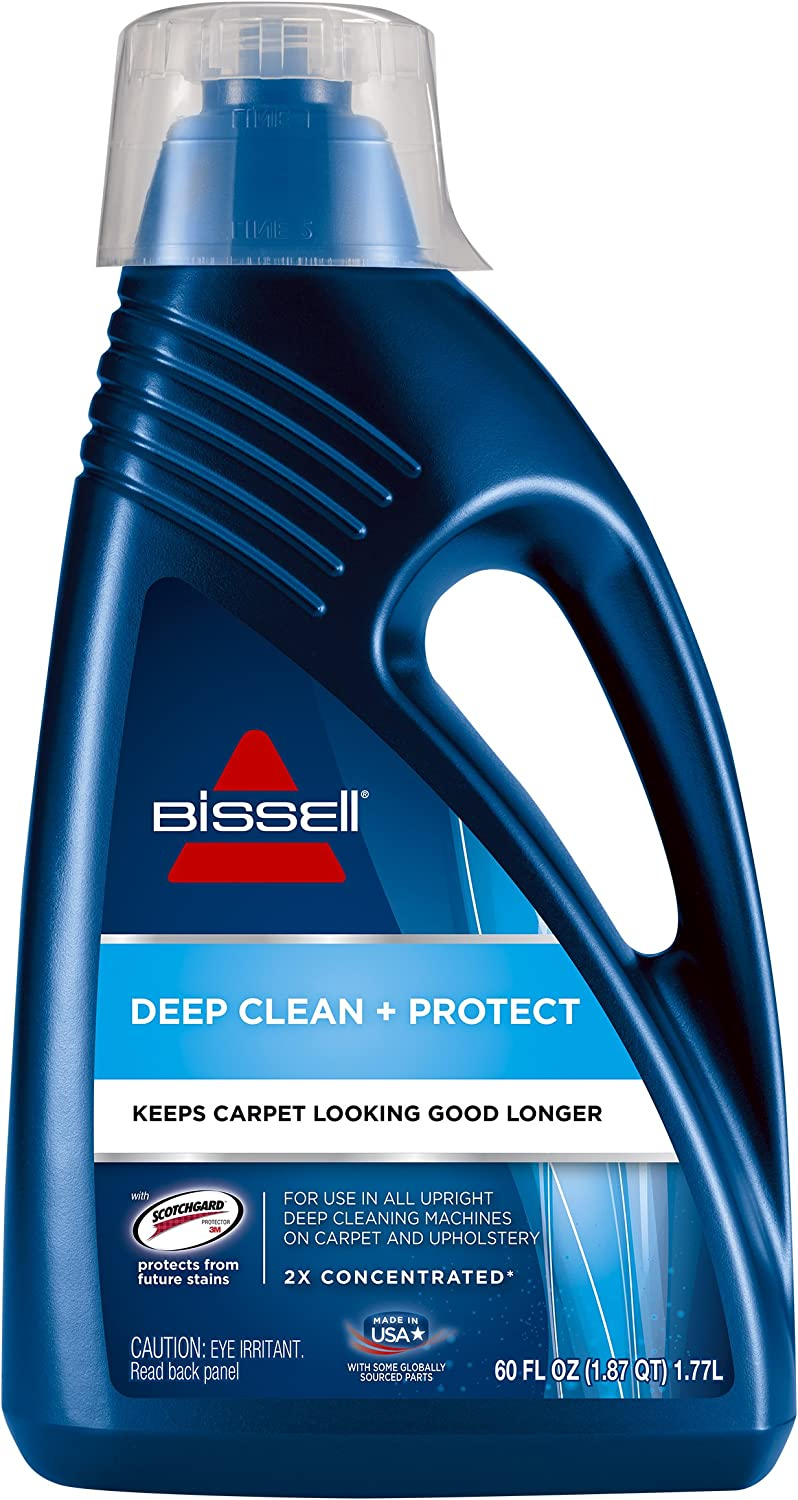 BISSELL 62E5A 2X Concentrated Deep Clean & Protect Full Size Machine Formula, 60 ounces