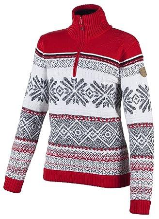 sehr bekannt vielfältig Stile Großhandelsverkauf F.LLI CAMPAGNOLO Damen Knitted norweger Strick Pullover ...