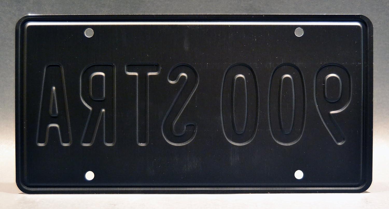 Transformers 4 900 STRA Metal Stamped Vanity Prop License Plate Celebrity Machines 900STRA Bumblebee Camaro