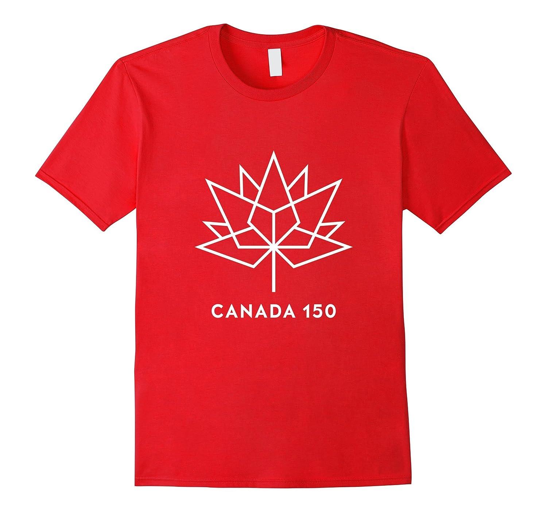 Canada 150 White Logo T-Shirt Official License-Art