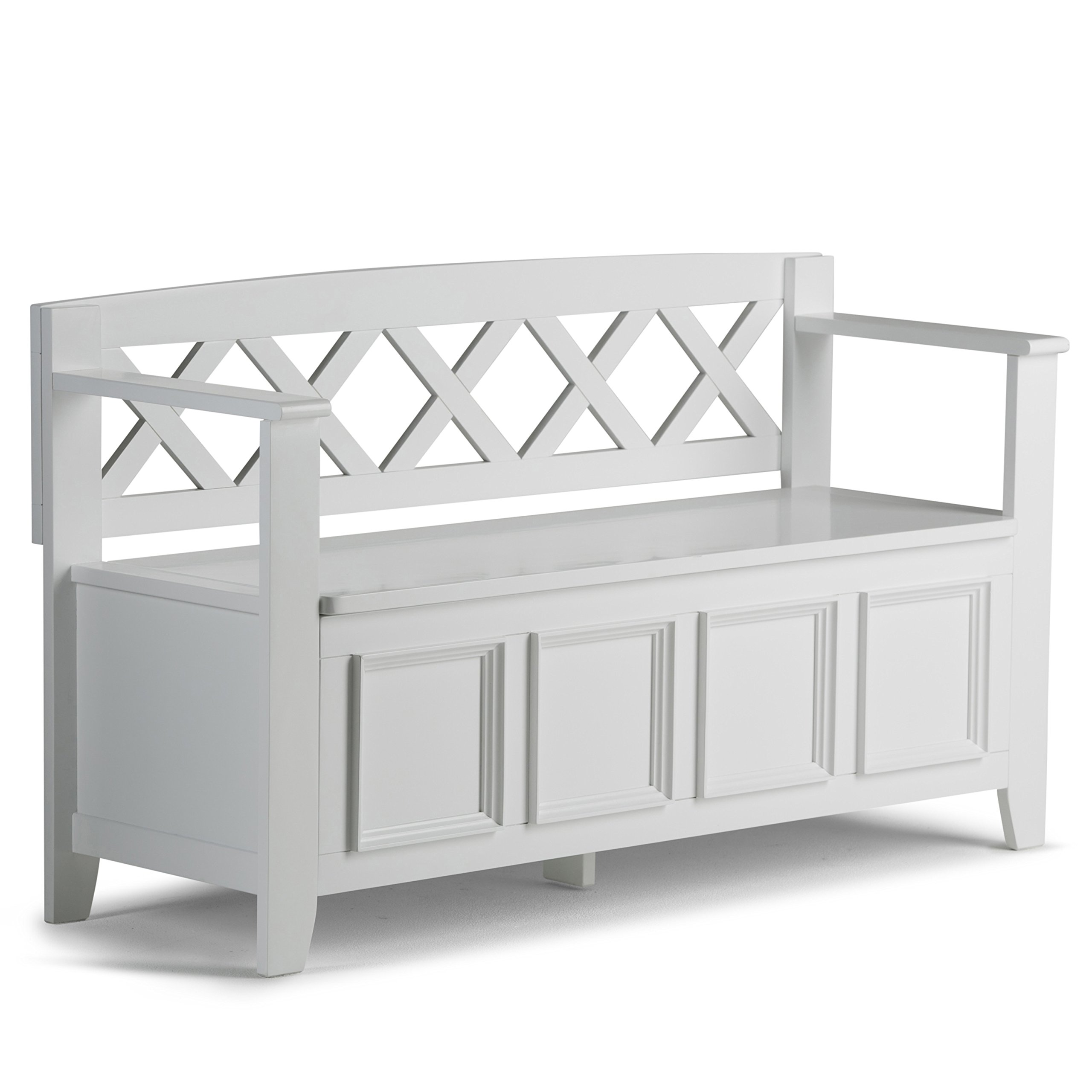 Superb Image Is Loading Simpli Home Amherst Solid Wood Entryway Storage Bench
