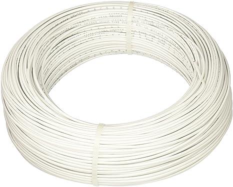 Amazon.com: UPG 77021 22-Gauge, 2-Conductor Alarm White Cable, 500 ...