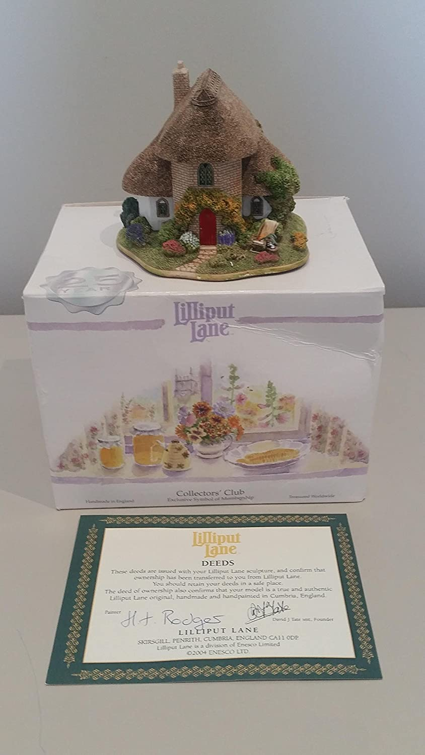 Lilliput Lane Afternoon Tea, Made In England