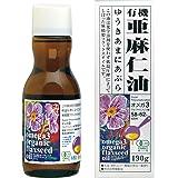 日本製粉 アマニ油プレミアムリッチ<186g>6本