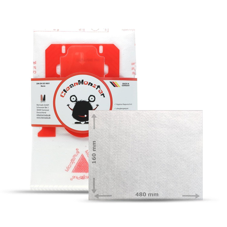 Acquisto Bonus Pack 20X cleanmon STER Sacchetti per aspirapolvere per AEG VX4–1CB P + 1X Micro Filtro (sufficiente per 5zuschnitte)–compatibili con le Swirl E82/PH86/PH96/vo75 Prezzo offerta