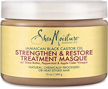SheaMoistureJamaican Black Castor Oil Strengthen, Grow & Restore Treatment Masque   12 fl.oz.