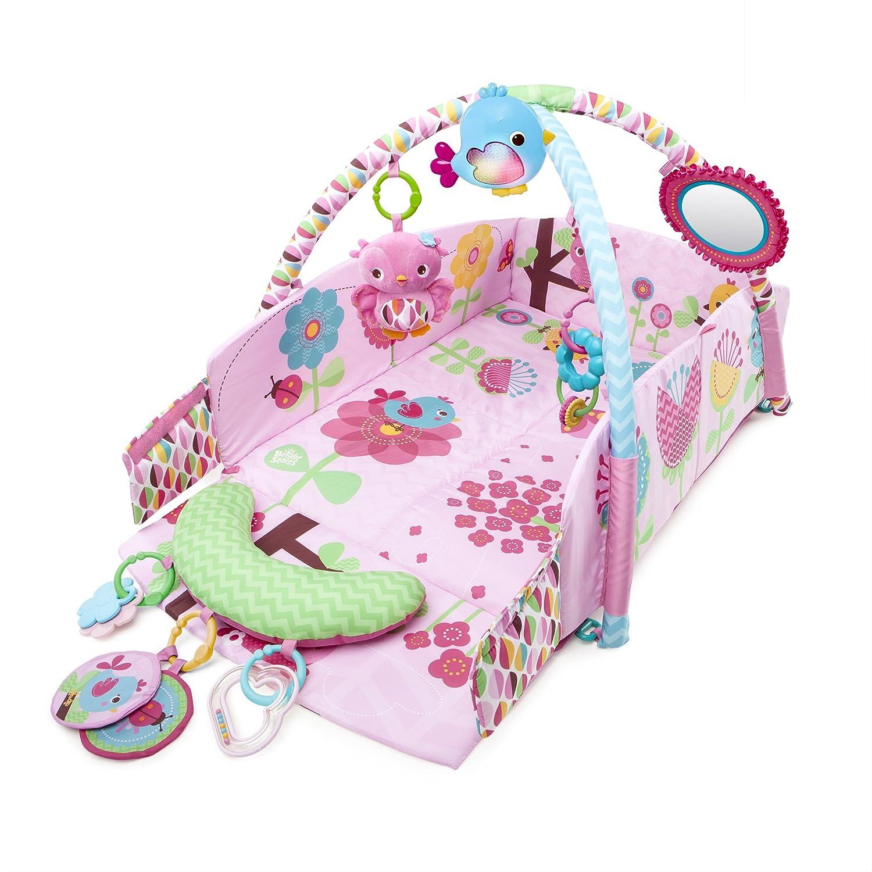 Bright Starts Sweet Song Birds - Area de juego gimnasio, color rosa Kids II 52158
