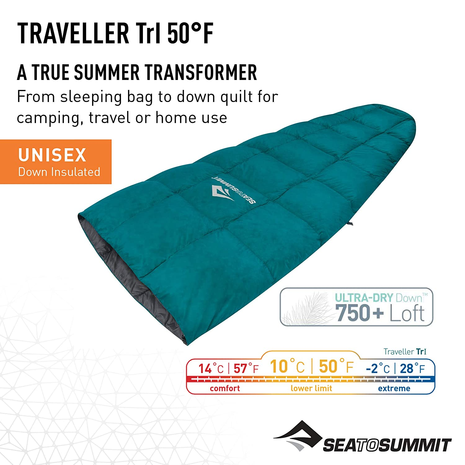 Sea to Summit Traveller Down Sleeping Bag