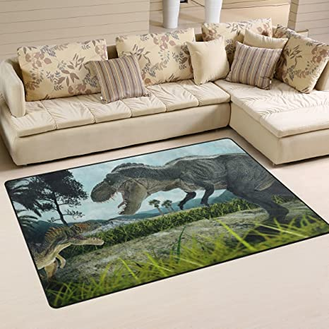 Ingbags super morbido moderno 3D rendering dinosauri area tappeti ...
