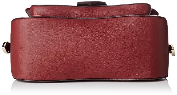Guess Damen Hwsisvp7390 Shopper, Rot (Bordeaux) 10x20x24.5