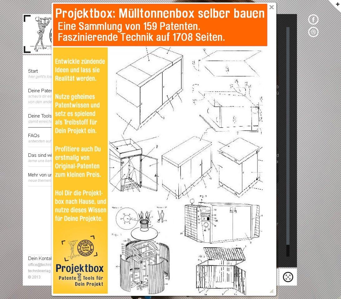 Mulltonnenbox Selber Bauen Deine Projektbox Inkl 159 Original