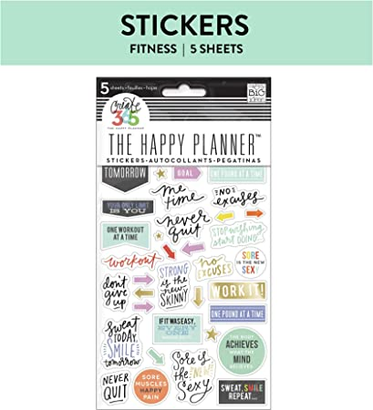 Me and My Big Ideas Create 365 Planner Stickers 5 Sheets//Pkg-Everyday Reminders,