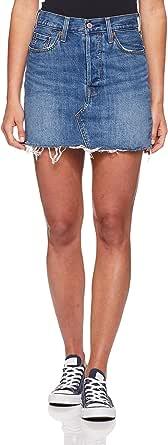 Levi's Women's Deconstructed Skirt, Middle Man