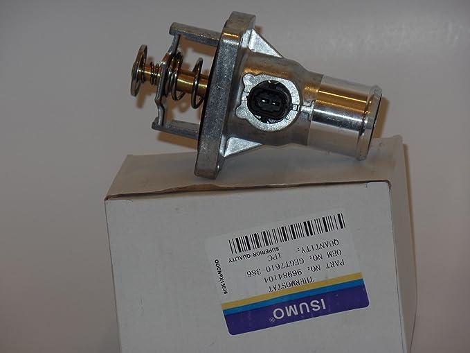 Amazon.com: 96984104 Thermostat Assembly Fits: CHEVROLET AVEO 2009-2014 AVEO5 2009-2011 CRUZE 2010-2015 CRUZE LIMITED 2016 SONIC 2012-2015 PONTIAC G3 ...