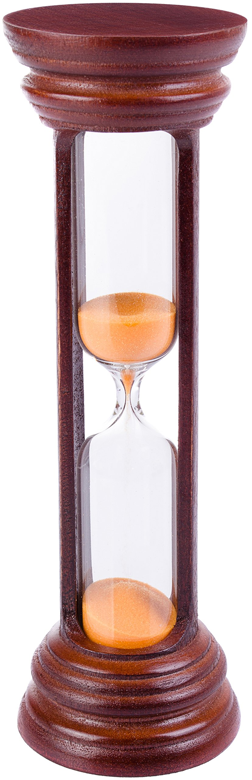 Sand Hourglass Timer – Best Vintage or Antique Style Hour Glass with World-Class Craftsmanship & High Accuracy – Ideal for Gifting, Décor or Use as 5 Minutes Sand Clock